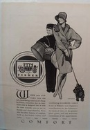 Body By Fisher General  Motors Comfort Ad 1928