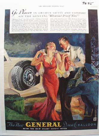 General Tire Safety Tread Ad 1934