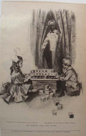 Cream of Wheat Blocks Ad 1907