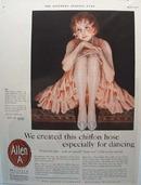 Allen-A Chiffon Hose Ad 1927