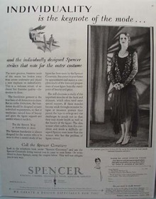 Spencer Corsets Individuality Ad 1928