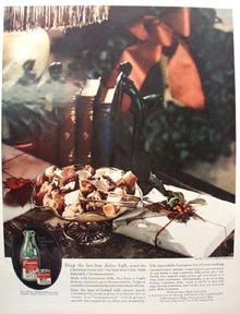 Carnation Milk Christmas Ad 1927