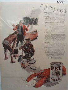 Pet Milk They Know Ad 1927