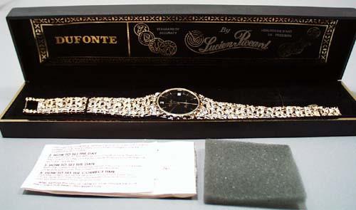 Dufonte by Lucien Piccard Diamond quartz watch