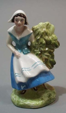 Evangeline's Crown Staffordshire figurine