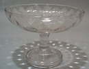 Nice older diamond pattern compote