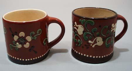 1 old, 1 new guady dutch mug