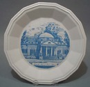 Monticello souvineer plate by Conrad Crafters