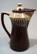 Batter Pitcher, Brown with yellow Drip