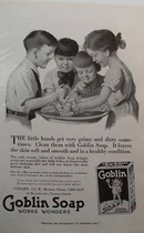 Goblin Soap Grimy Hands Ad 1919