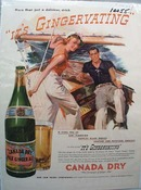 Ginger Ale More Than Delicious Drink Ad 1937.