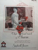 American Florists Touch of Charm Ad 1928