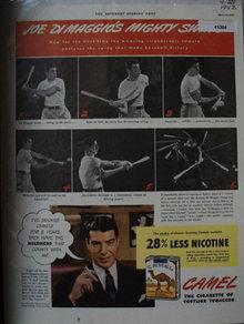 Camel Cigarettes 1942 Ad