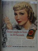Lucky Strike Cigarette 1938 Ad Claudette Colbert