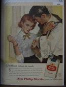 Philip Morris Cigarettes 1956 Ad
