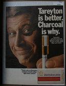 Tareyton 100s Cigarette 1970 Ad
