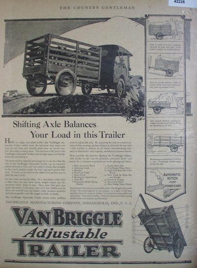 Van Briggle Trailer 1920 Ad