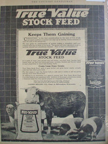 True Value Stock Feed 1920 Ad