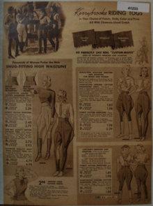 Sears Kerrybrooke Riding Togs 1938 Ad