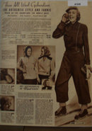 Sears Womens Ski Outfits 1938 Ad