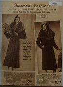 Sears Chaarmode Fashion Coats 1938 Ad