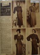 Sears Charmode Dresses 1938 Ad