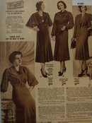 Sears womens Trimline Fashions Dresses 1938 Ad