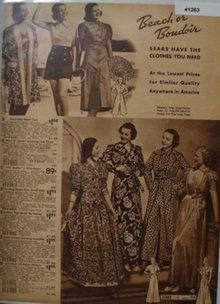 Sears Womens Beach Or Boudoir Clothes 1938 Ad