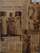 Sears Womens Professional Uniforms 1938 Ad