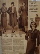 Sears Womens Trimlines Dresses 1938 Ad