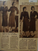 Sears Dresses In Celanese Fabrics 1938 Ad
