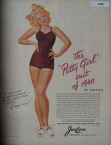 Jantzen Swim Suits 1940 Ad