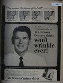 Van Heusen Shirts 1953 Ad
