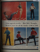 Blue Bell Wrangler Western Jeans 1956 Ad
