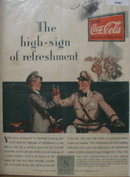 Coca Cola High Sign 1929 Ad