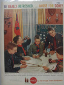 Coca Cola Boy Scout Meeting 1959 Ad