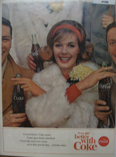 Coca Cola Things Go Better With Coke 1963 Ad