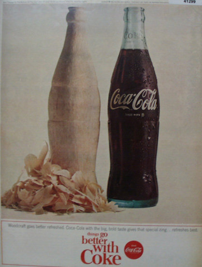 Coca Cola Woodcraft 1964 Ad