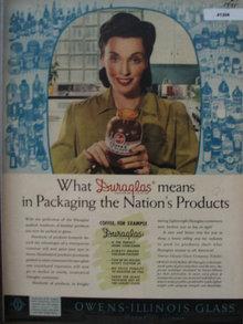 Owens Illinois Duroglas 1941 Ad