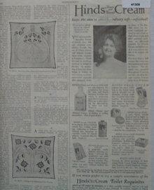 Hinds Cold Cream 1921 Ad
