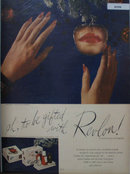 Revlon Match Box Set 1945 Ad
