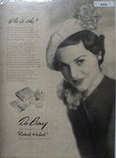 Du Barry Beauty Preparations 1949 Ad