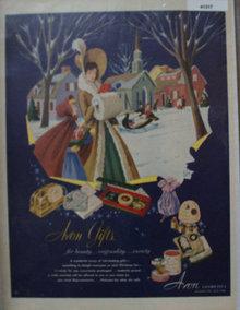 Avon Cosmetics 1951 Ad