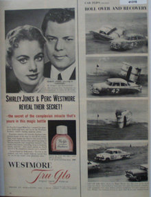 Westmore Tru Glo Liquid Make Up 1956 Ad