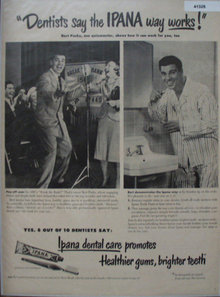 Ipana Tooth Paste 1949 Ad