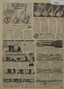 Sears Hair Clippers Shears And Brushes 1938 Ad