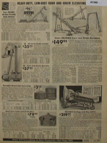 Sears Farm Related Elevators 1938 Ad