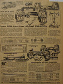Sears Farm Related Trucks And Bob Sleds 1935 Ad