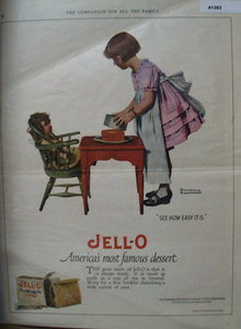 Jell-O From The Genesee Pure Food Co. 1923 ad