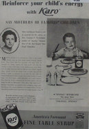 Karo Table Syrup 1936 Ad